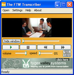 Click to view The FTW Transcriber screenshots